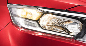 HEADLAMP WITH LED POSITION LIGHT (ON)