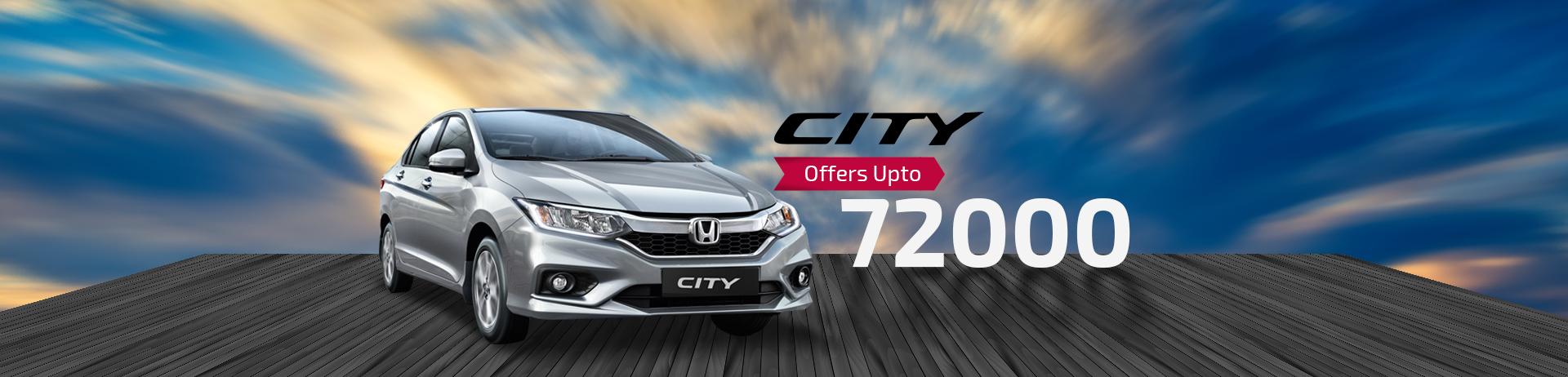 honda city offers