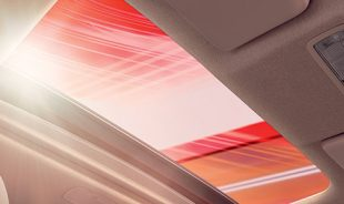 ^Segment-Exclusive One-Touch Electric Sunroof