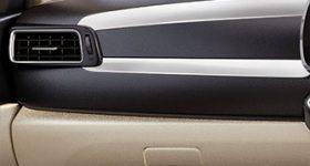 Premium Dashboard with Satin Silver & Chrome Ornamentation